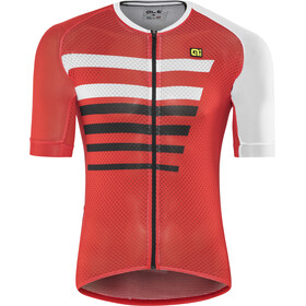 Alé Cycling R-EV1 Piuma Bike Jersey Shortsleeve Men red/white